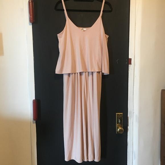 9179045ef560 Uniqlo Camisole Jumpsuit Blush Pink Small. M 5b54b7ea534ef965ef47ad0d
